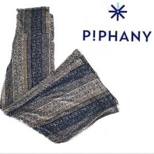 NWT Piphany Honey & Lace Pacific Palazzo Pants XL
